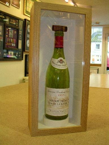 A Wine Bottle and its cork